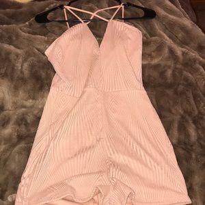Fashion Nova Blush Romper